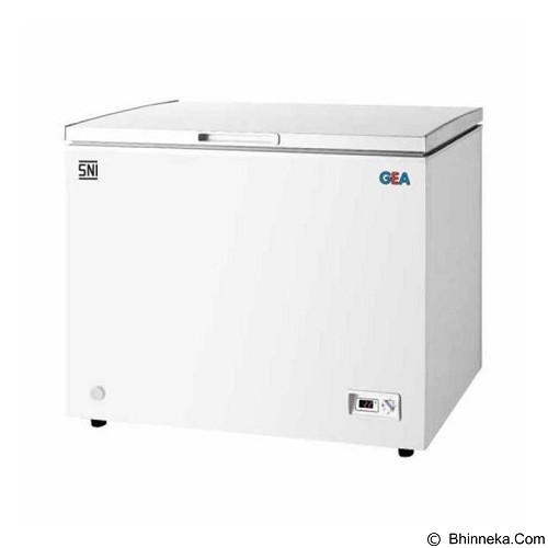 GEA Chest Freezer [AB 316-R] - Chest Freezer Top Open