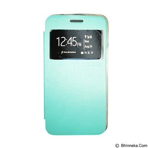GEA Flipcover for Oppo A33t/Neo7 - Green (Merchant) - Casing Handphone / Case