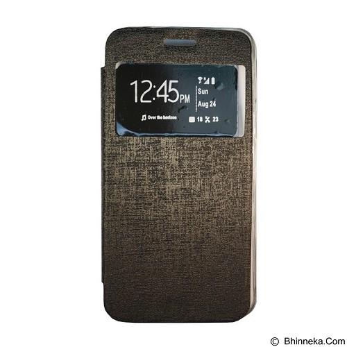 GEA Flipcover for Oppo R1201 - Black (Merchant) - Casing Handphone / Case