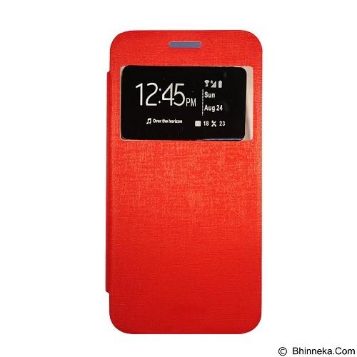 GEA Flipcover for Samsung Galaxy S5 - Red (Merchant) - Casing Handphone / Case