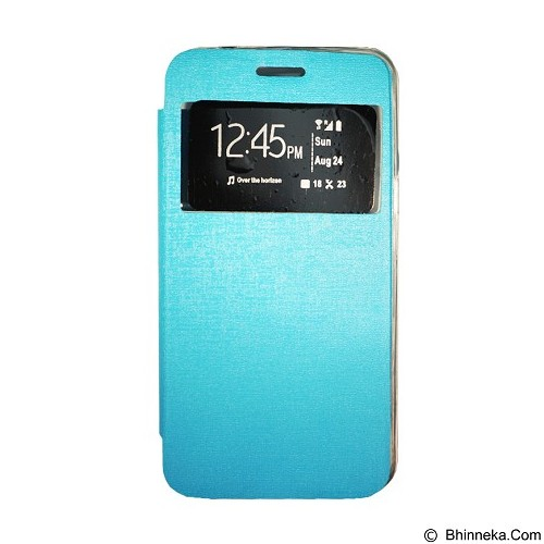 GEA Flipcover for Samsung Galaxy S6 Duos (G920) - Soft Blue (Merchant) - Casing Handphone / Case