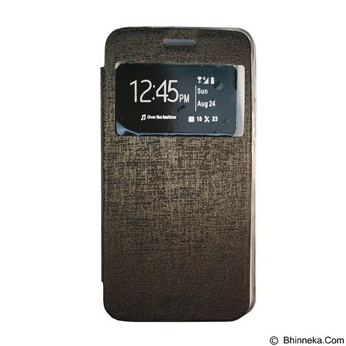 GEA Flipcover for Samsung Galaxy Young (S6310) - Black (Merchant) - Casing Handphone / Case