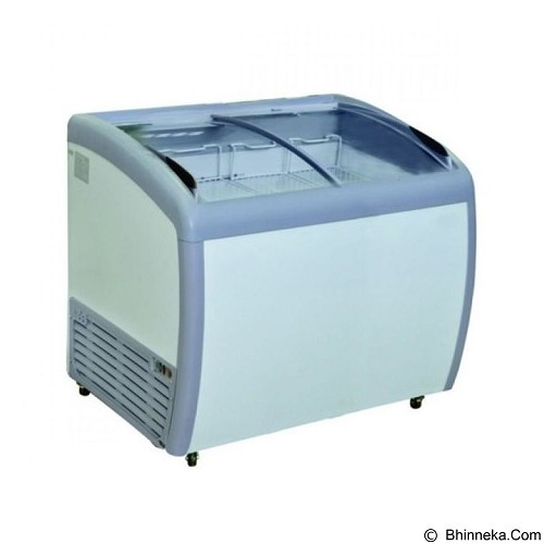 GEA Sliding Flat Glass Freezer [SD-260BY] - Chest Freezer Sliding Glass