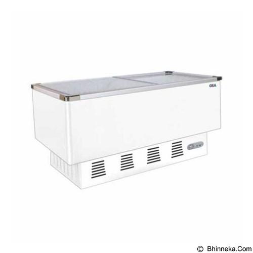 GEA Sliding Flat Glass Freezer [SD-376BP] - Chest Freezer Sliding Glass