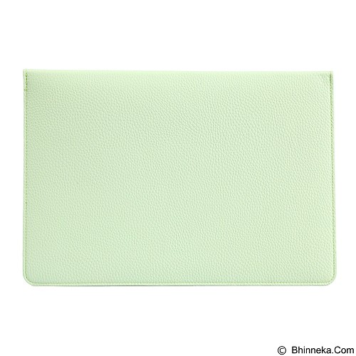 GEARMAX Envelope Waterproof PU Laptop Sleeve Case Bag 15.4 Inch [GM4027] - Green (Merchant) - Notebook Sleeve