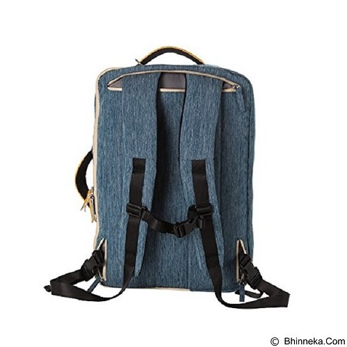 GEARMAX Carrying Bag 15.6 - 17 Inch [GM4902] - Blue (Merchant) - Notebook Backpack
