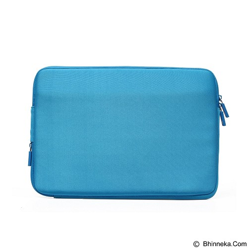 GEARMAX Classic Lycra Fabric Laptop Sleeve Case Bag 15.4 Inch [GM1701] - Blue - Notebook Sleeve