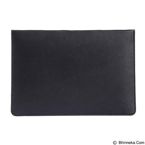 GEARMAX Envelope Waterproof PU Laptop Sleeve Case Bag 11.6 Inch [GM4027] - Black (Merchant) - Notebook Sleeve