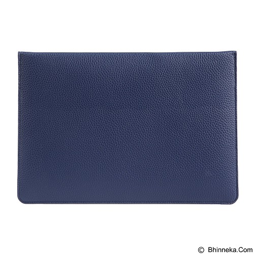 GEARMAX Envelope Waterproof PU Laptop Sleeve Case Bag 11.6 Inch [GM4027] - Dark Blue (Merchant) - Notebook Sleeve