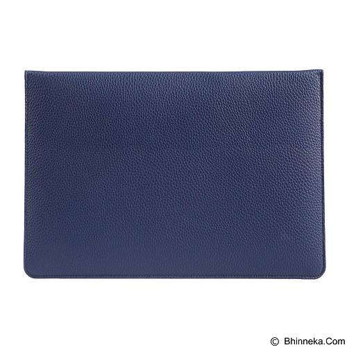 GEARMAX Envelope Waterproof PU Laptop Sleeve Case Bag 11.6 Inch [GM4027] - Dark Blue (Merchant) - Notebook Sleeve