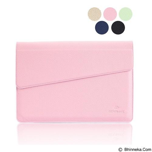 GEARMAX Envelope Waterproof PU Laptop Sleeve Case Bag 11.6 Inch [GM4027] - Pink (Merchant) - Notebook Sleeve