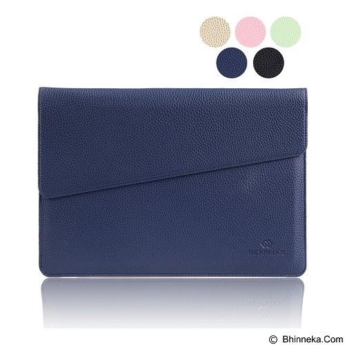 GEARMAX Envelope Waterproof PU Laptop Sleeve Case Bag 12 Inch [GM4027] - Dark Blue (Merchant) - Notebook Sleeve