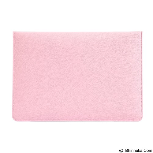 GEARMAX Envelope Waterproof PU Laptop Sleeve Case Bag 12 Inch [GM4027] - Pink (Merchant) - Notebook Sleeve