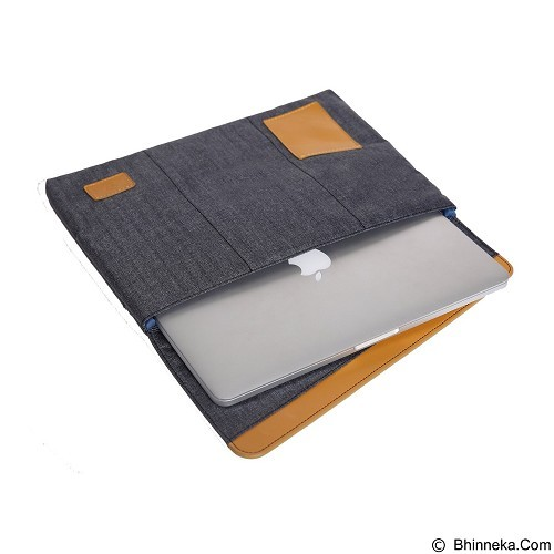 GEARMAX Laptop Sleeve Case Bags 15.4 Inch [GM4046] - Grey (Merchant) - Notebook Sleeve