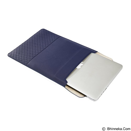 GEARMAX Leather Laptop Case Cover Sleeve Bag 15.4 Inch [GM4028] - Dark Blue (Merchant) - Notebook Sleeve