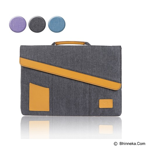 GEARMAX Laptop Sleeve Case Bags 11.6 - 12 Inch [GM4046] - Grey (Merchant) - Notebook Sleeve