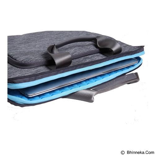 GEARMAX Snowflakes Fabrics Nylon Oxford Laptop Sleeve Case Bag 13.3 Inch [GM39061] - Light Grey (Merchant) - Notebook Sleeve