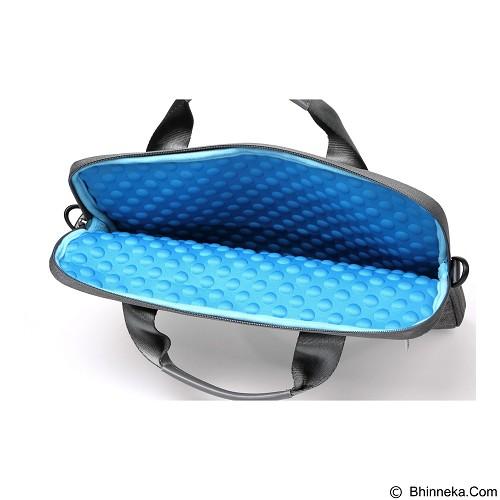 GEARMAX Snowflakes Fabrics Nylon Oxford Laptop Sleeve Case Bag 15.4 Inch [GM39061] - Ash Color (Merchant) - Notebook Shoulder / Sling Bag