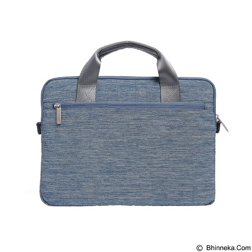 GEARMAX Snowflakes Fabrics Nylon Oxford Laptop Sleeve Case Bag 15.4 Inch [GM39061] - Blue (Merchant) - Notebook Sleeve