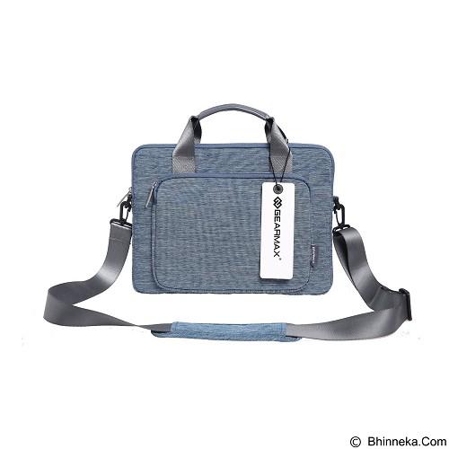 GEARMAX Snowflakes Fabrics Nylon Oxford Laptop Sleeve Case Bag 15.4 Inch [GM39061] - Blue (Merchant) - Notebook Shoulder / Sling Bag