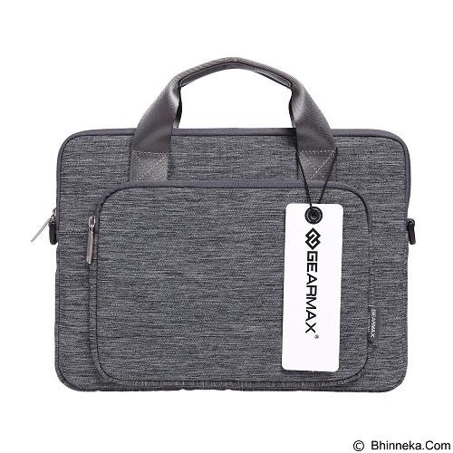 GEARMAX Snowflakes Fabrics Nylon Oxford Laptop Sleeve Case Bag 15.4 Inch [GM39061] - Light Grey (Merchant) - Notebook Shoulder / Sling Bag