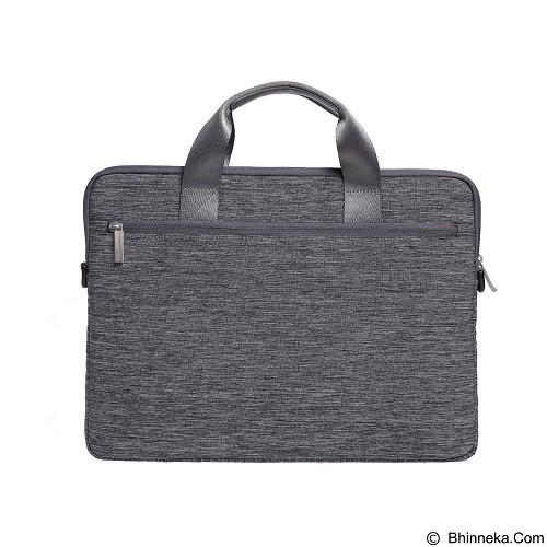 GEARMAX Snowflakes Fabrics Nylon Oxford Laptop Sleeve Case Bag 15.4 Inch [GM39061] - Light Grey (Merchant) - Notebook Sleeve