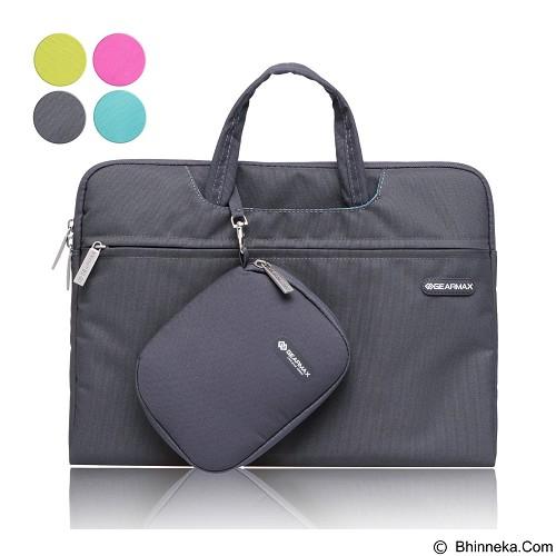 GEARMAX Waterproof Canvas Oxford Laptop Sleeve Case Bag 13.3 Inch [GM3910] - Black (Merchant) - Notebook Sleeve