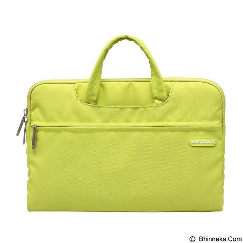 GEARMAX Waterproof Canvas Oxford Laptop Sleeve Case Bag 15.4 Inch [GM3910] - Green (Merchant) - Notebook Sleeve