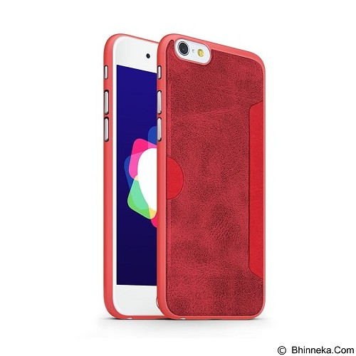 GEARMAX Wiwu Premium iPhone 6 Plus/6s Plus Case 5.5 Inch [SJ-001] - Red (Merchant) - Casing Handphone / Case