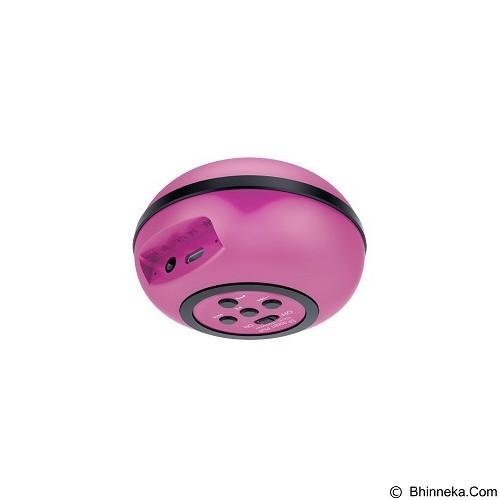 GENIUS Bluetooth Speaker [SP-906BT Plus] - Magenta - Speaker Bluetooth & Wireless