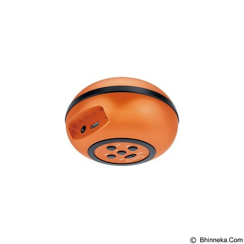 GENIUS Bluetooth Speaker [SP-906BT Plus] - Orange - Speaker Bluetooth & Wireless