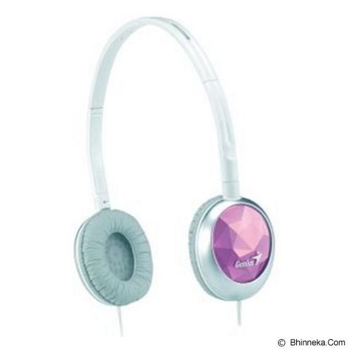 GENIUS Headphone [GHP-400S] - Pink (Merchant) - Headphone Portable