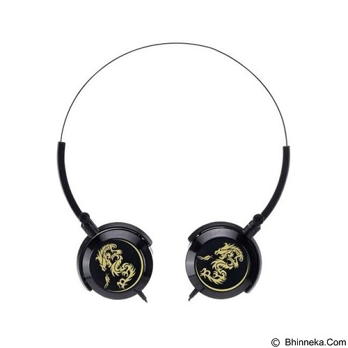 GENIUS Headset [GHP-400F] - Black (Merchant) - Headphone Portable