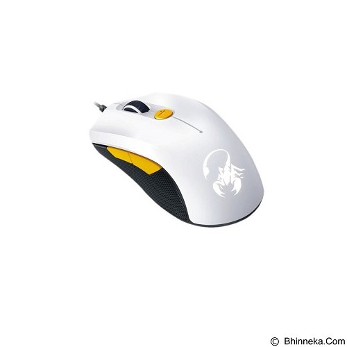 GENIUS Mouse Gaming SCORPION [M6-600] - White Orange (Merchant) - Gaming Mouse
