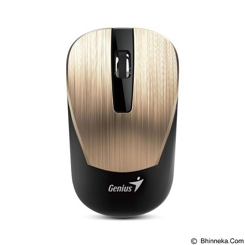 GENIUS Mouse Wireless [NX7015] - Gold (Merchant) - Mouse Mobile