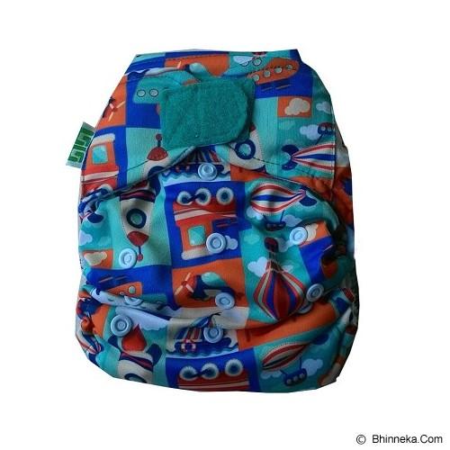 GG CLOTH DIAPER GG B Dipe Motif Transportation - Cloth Diapers / Popok Kain