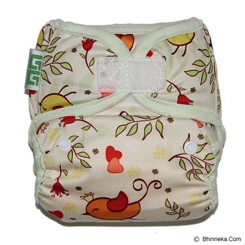 GG CLOTH DIAPER GG Little Motif Bird - Cloth Diapers / Popok Kain