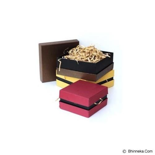 GIFTANDPARCEL Double Wall Hardbox Small [BI-DWH-S-Brown] - Brown - Bungkus Kado / Gift Warp