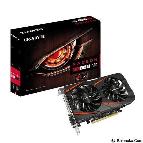 GIGABYTE AMD Radeon RX460 Windforce OC 4GB [GV-RX460WF2OC-4GD] (Merchant) - Vga Card Amd Radeon