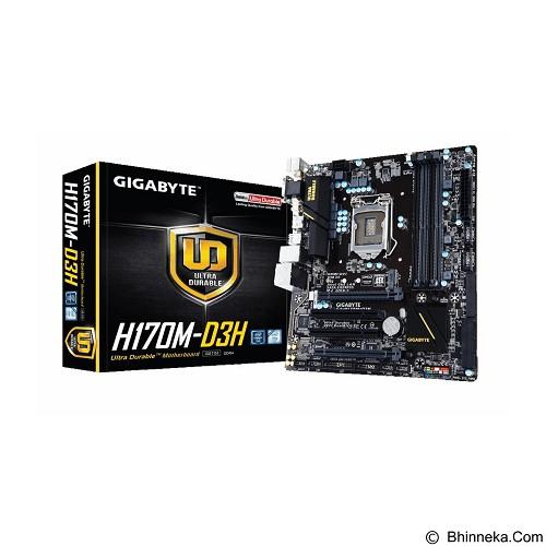 GIGABYTE Motherboard Socket LGA1151 [GA-H170M-D3H] (Merchant) - Motherboard Intel Socket LGA1151