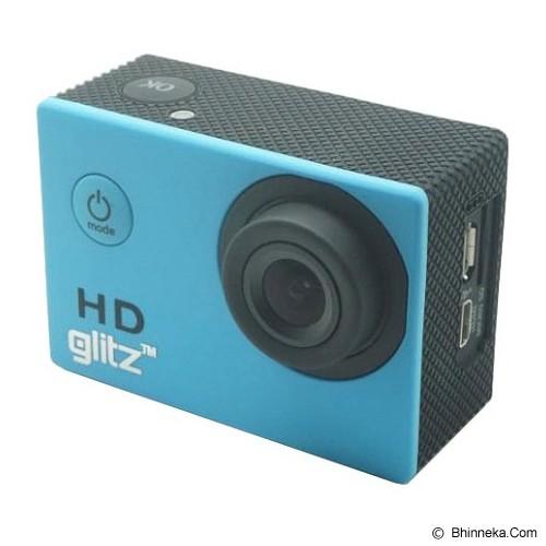 GLITZ Sportcam A7 Wide Lens - Blue - Camcorder / Handycam Flash Memory