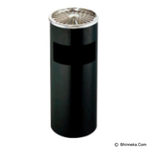 GM Ground Ash Barrel [SL-019] - Black - Keranjang Sampah