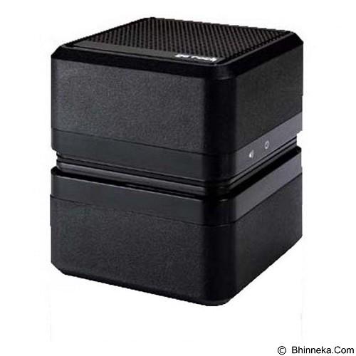 GO-ROCK Cube SRS Mobile Speaker [TRMS03SR] - Black (Merchant) - Speaker Portable