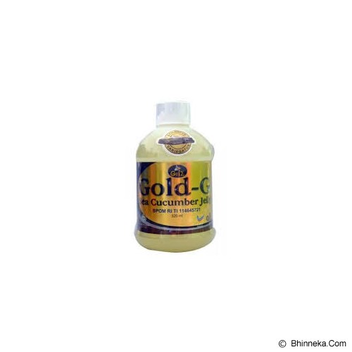 GOLD G Jelly Gamat 320ml - Obat Antibiotik