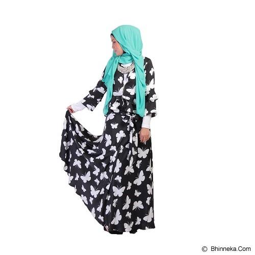 GOLDEECLOTH Butterfly Skirt - Black - Gamis Wanita