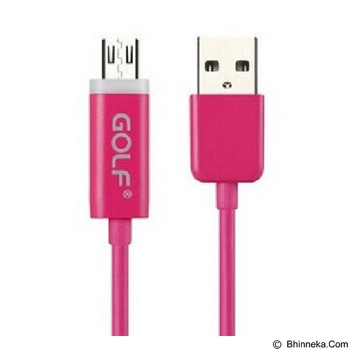 GOLF LED Cable Data Micro - Pink (Merchant) - Cable / Connector Usb