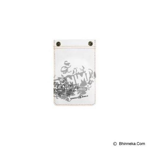 GOLLA G1070 Rivetto - White - Sarung Handphone / Pouch
