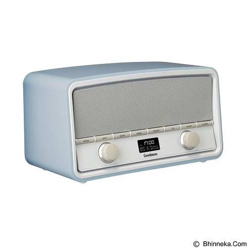 GOODMANS Heritage Vintage Style DAB Digital Radio with Bluetooth [GSR1889DABBTPB] - Sky Blue - Speaker Bluetooth & Wireless
