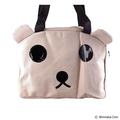 GOOLALI Tas Bear Mata Bulat [T224-5] - Khaki - Shoulder Bag Wanita