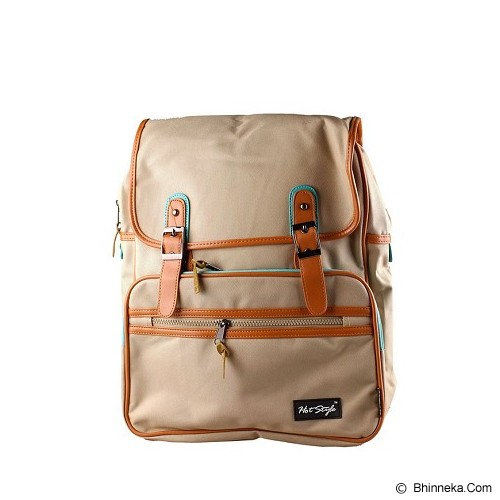 GOOLALI Tas Fashion HF912 [T209-4] - Khaki - Backpack Wanita